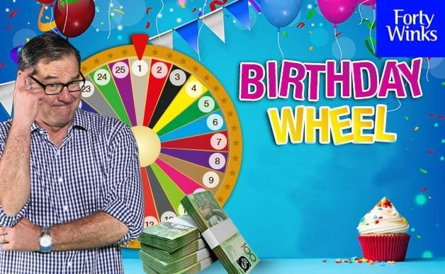 Triple M Birthday Wheel