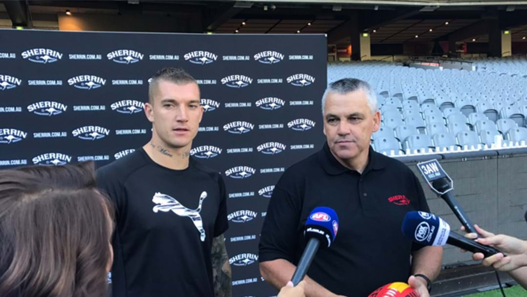 Dustin Martin Releases Statement About Sherrin Launch