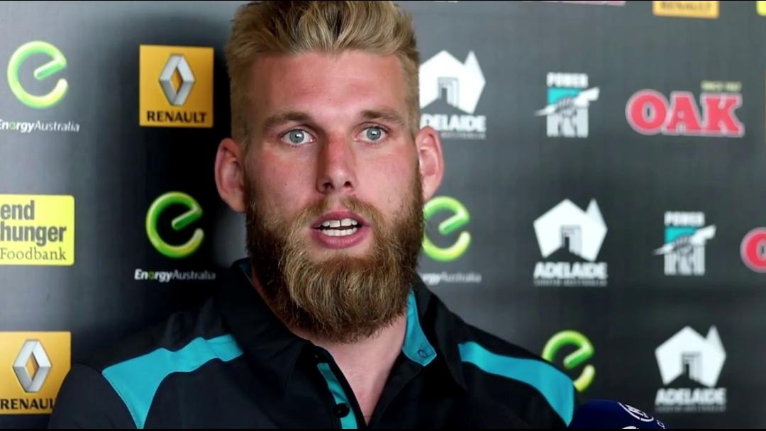 Jackson Trengove Reveals He's The Port Adelaide Pest