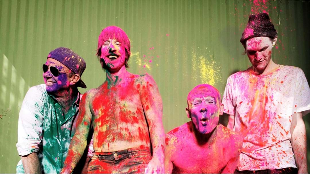 WATCH: Red Hot Chili Peppers Play At Chad's Kid's School For Halloween