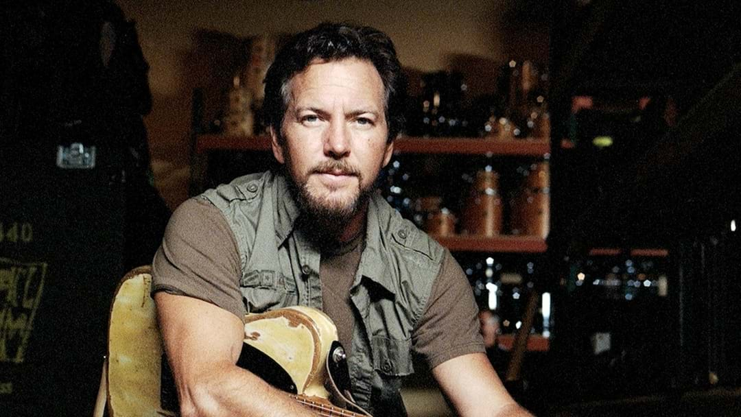 Eddie Vedder Announces Solo Tour