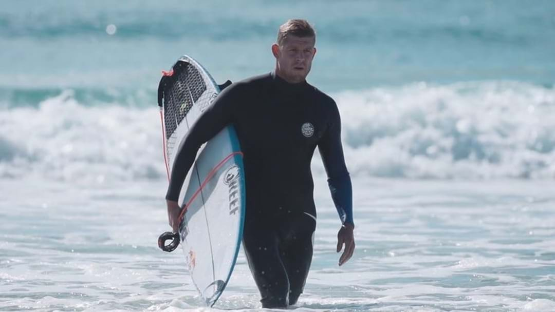 3X WORLD SURFING CHAMPION MICK FANNING SPOKE TO BRIDGE AND SPIDA IN THE LEAD UP TO NEXT WEEK'S QUIKSILVER PRO