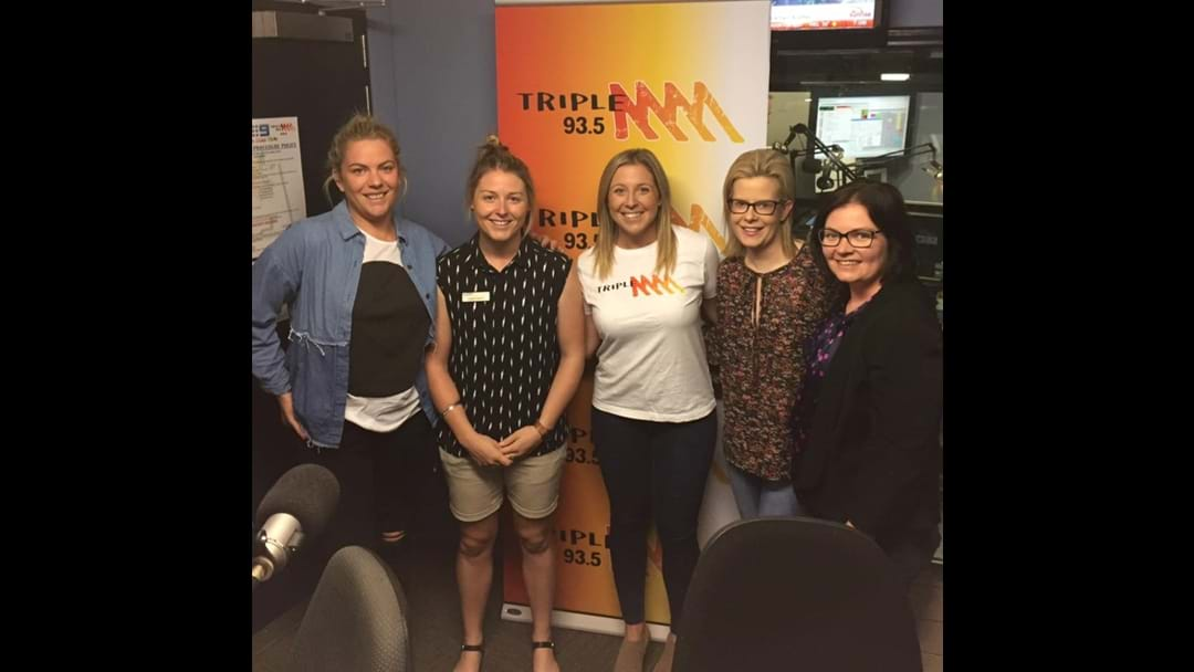 International Womens Day at Bendigo's 93.5 Triple M