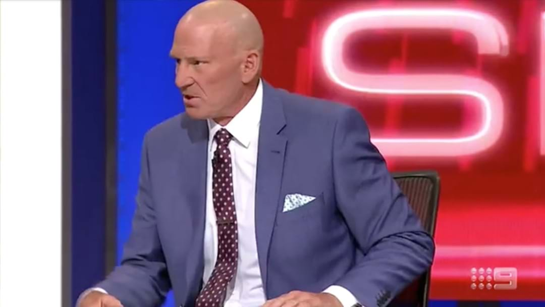 Sam Newman's Extraordinary Attack On Mike Sheahan's Son During The Footy Show
