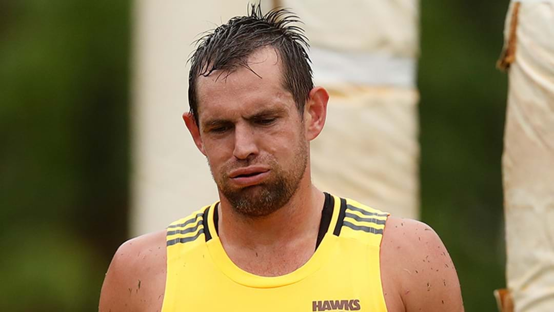 Luke Hodge Cops Sanction From Teammates