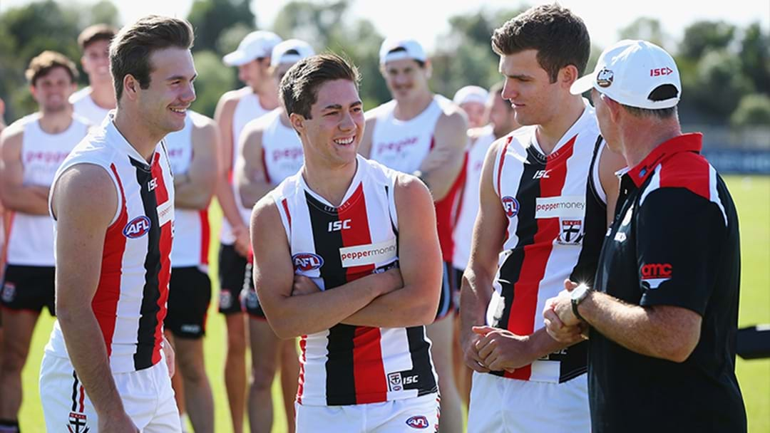 St Kilda Youngster To Miss The Start Of The Season