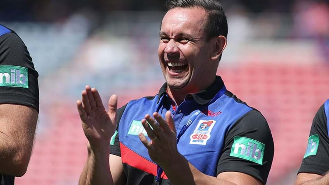 "If The Knights Aren't Your ""Second Team"", They Will Be After This Matty Johns Yarn From The Sheds Yesterday"