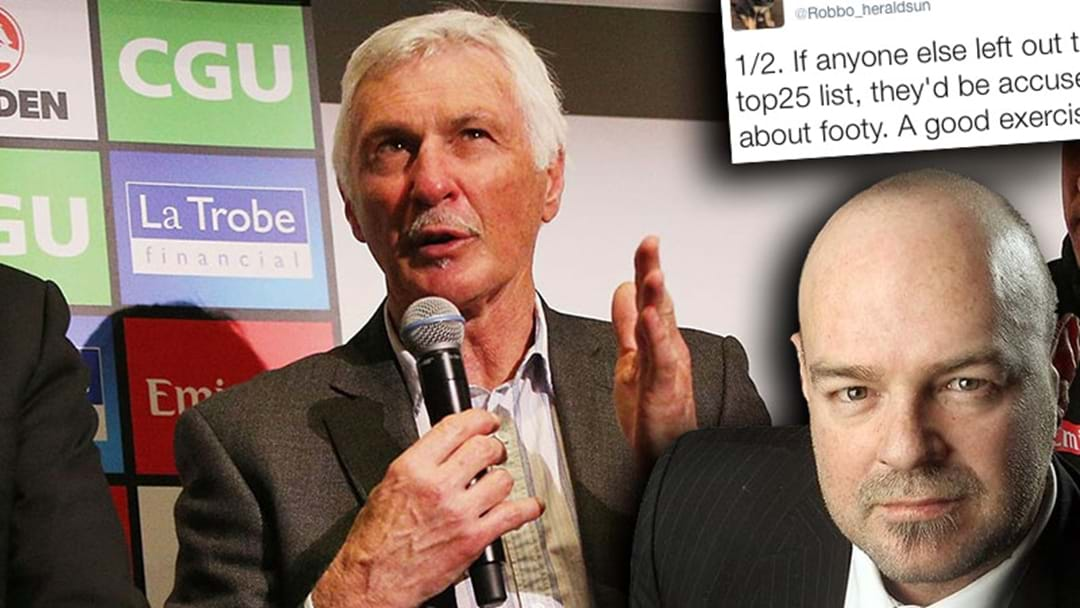 Robbo Hits Out At Mick Malthouse