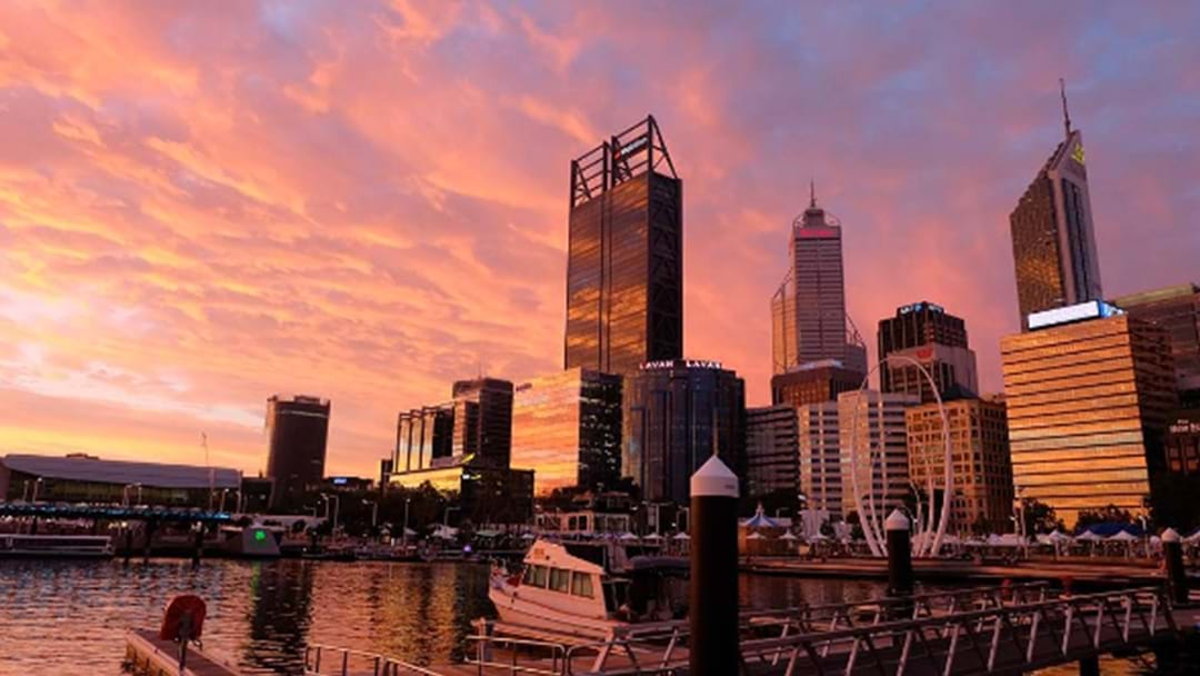 Basking In The Afterglow Of Perth's Truly EPIC Sunset