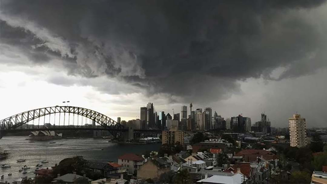 Storm Warning Issued For Sydney's West