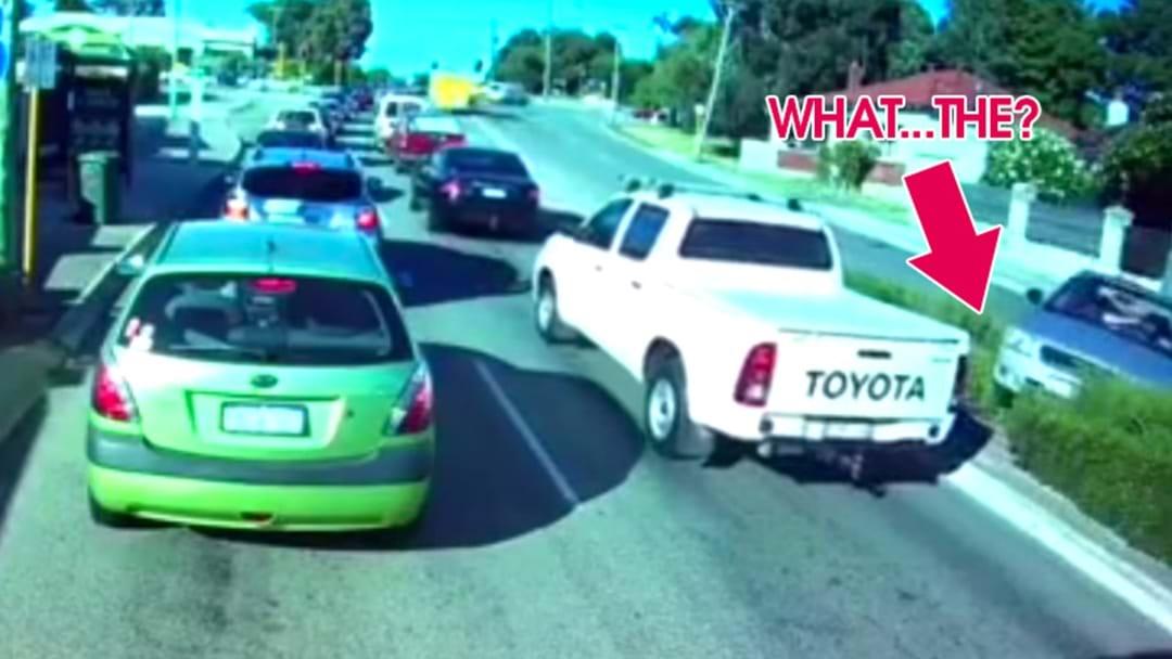 Dash Cam Footage Shows Complete Brain Fade In Random Car Crash