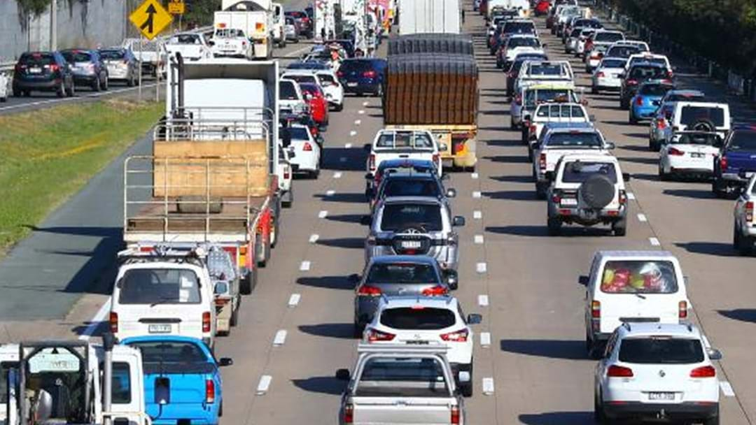 Traffic Stopped In Both Directions On M1 Pacific Motorway