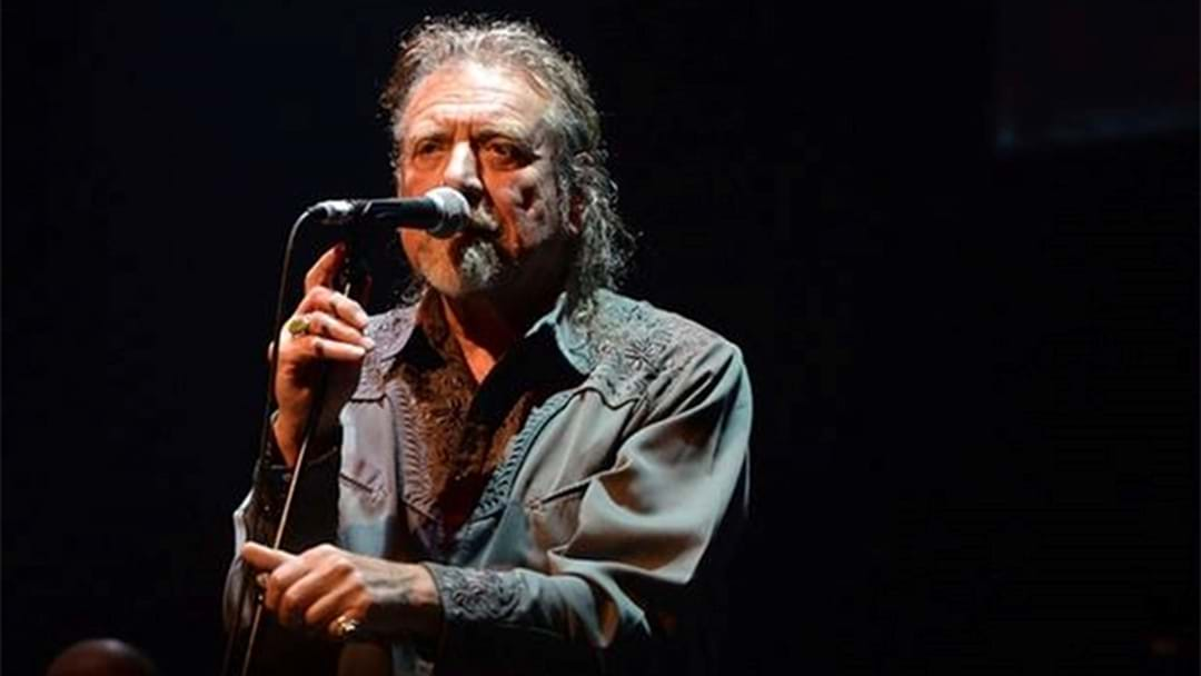 LISTEN: Robert Plant's First Performance Of Kashmir Since Led Zeppelin