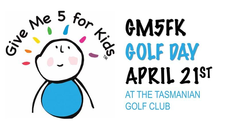 GIVE ME 5 FOR KIDS GOLF DAY