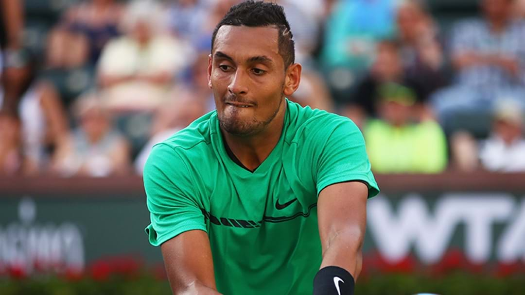 Nick Kyrgios Forced Out Of Clash With Roger Federer