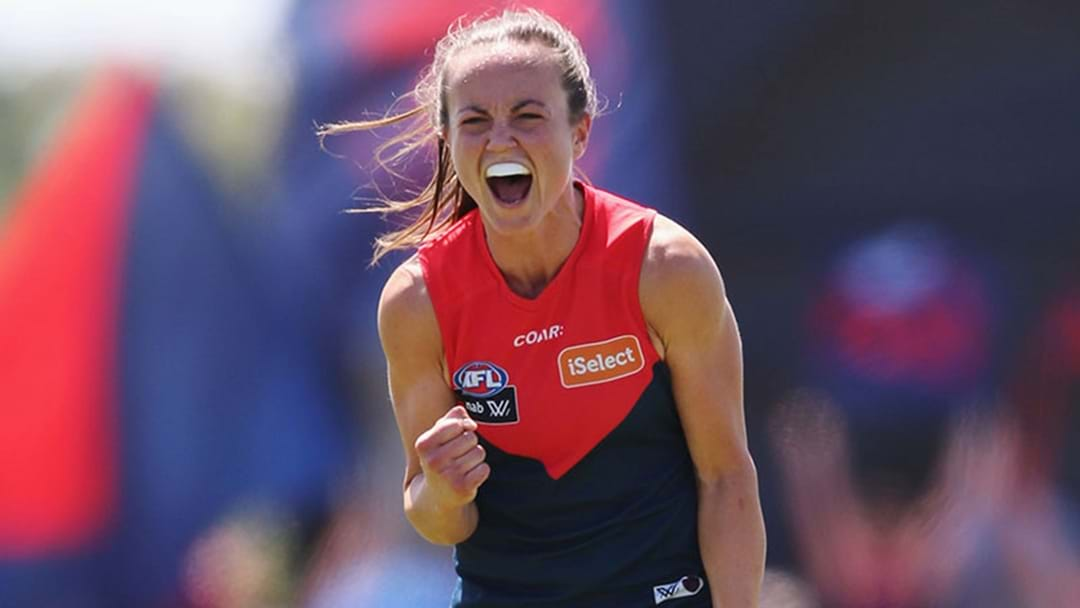 Melbourne Just Smashed The AFLW Highest Score Record