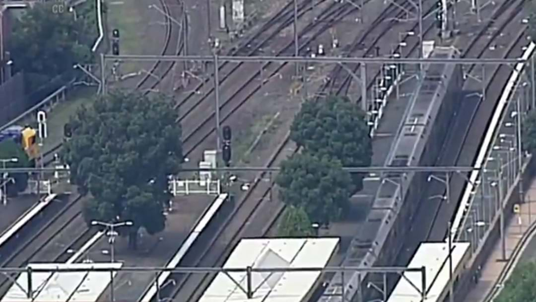 Person Injured After Part Of A Train Flew Off And Landed On Burwood Station