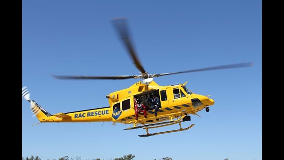 Rescue Chopper Sent To Two Crashes In Regional WA