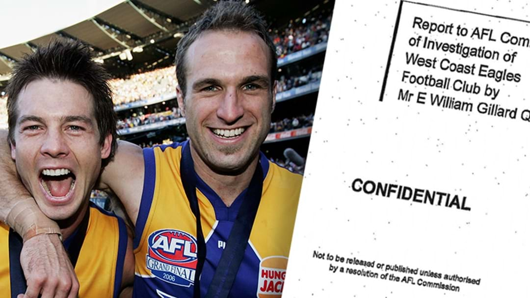 Chris Judd Speaks Out About Damning West Coast Report