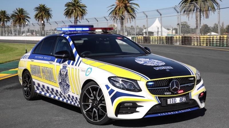Victoria police mercedes