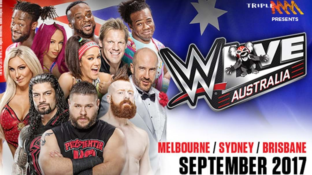 Finally... Triple M Is Bringing The WWE Back To Australia