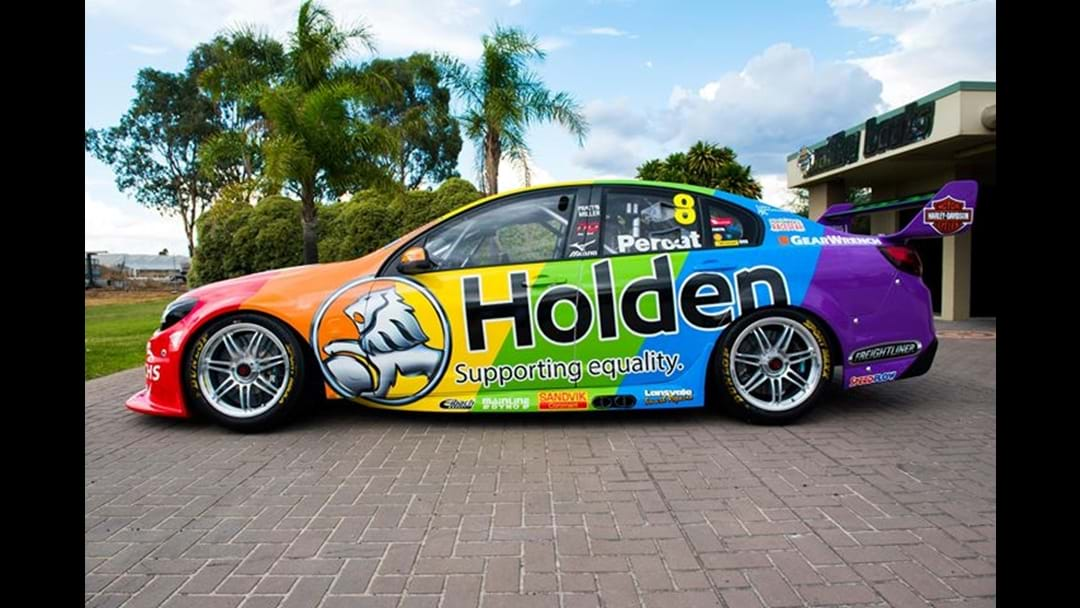 Nick Percat's New 'Equality' Livery