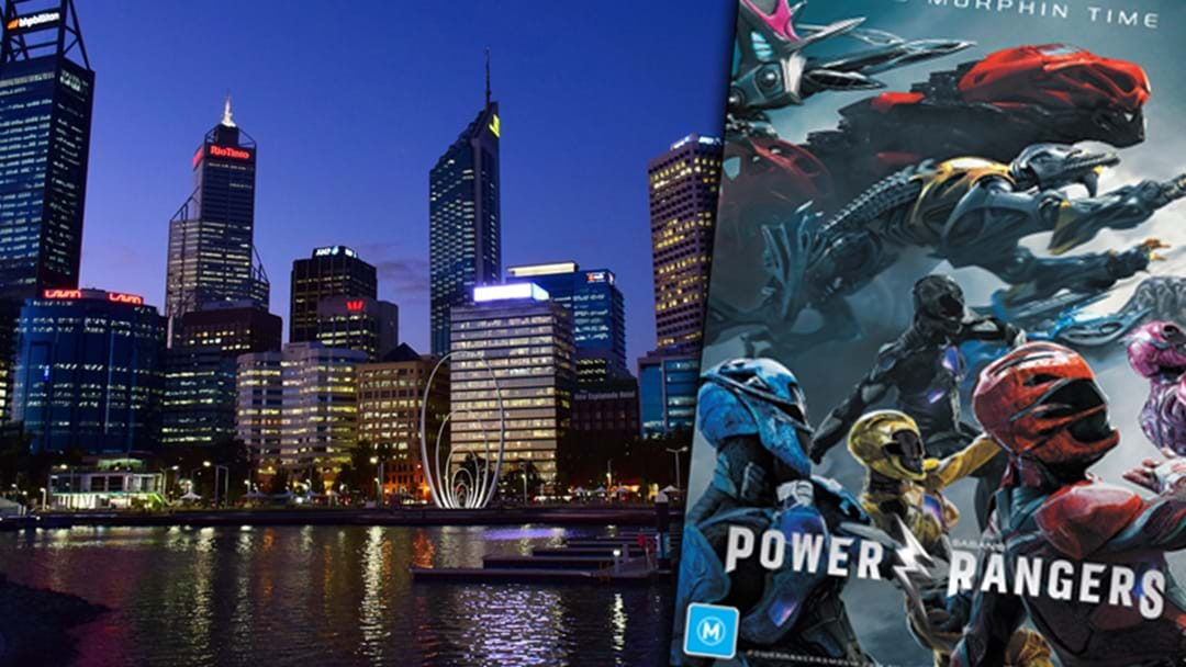 Power Rangers Set To Take Over Perth City Tonight