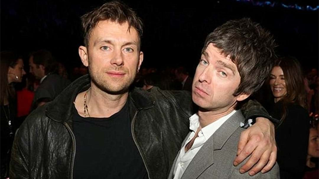LISTEN: Rivals Damon Albarn And Noel Gallagher Collaboration