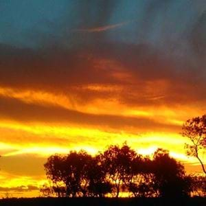 Cyclone Debbie sunsets