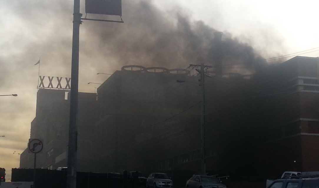 Article heading image for BREAKING: Fire At Iconic XXXX Brewery In Milton