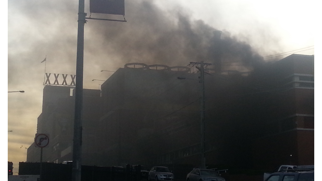 BREAKING: Fire At Iconic XXXX Brewery In Milton