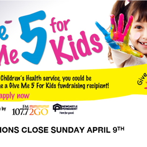 Give Me 5 For Kids Funding Applications