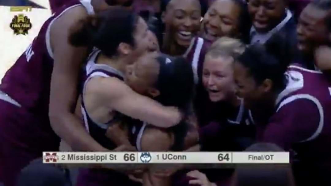 A Women's Basketball Team In America Just Lost A 111-Game Winning Streak To A Buzzer Beater