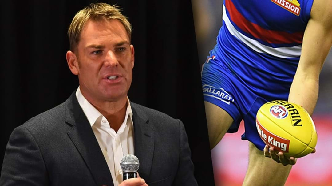 Shane Warne Reveals His Five Favourite AFL Players