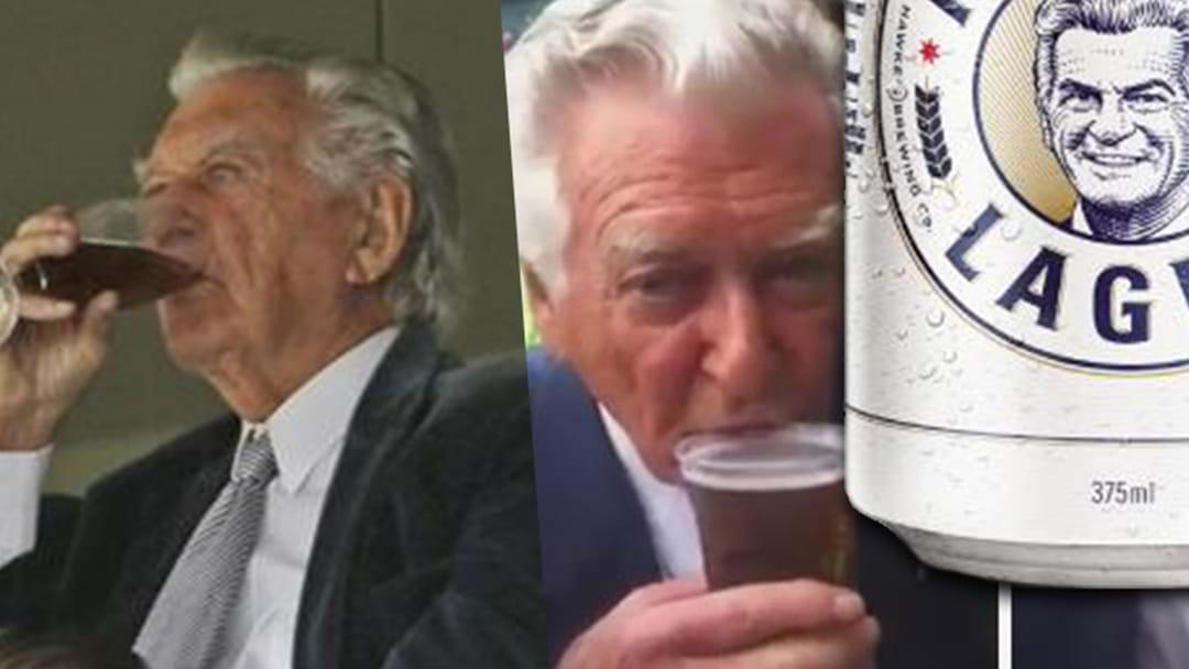Bob Hawke Drops New Beer Named After Himself