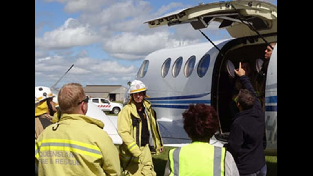 Toowoomba City Aerodrome Exercise a Valuable Training Day
