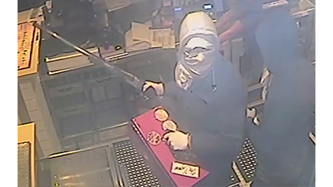 Images Released Of Terrifying East Maitland Robbery