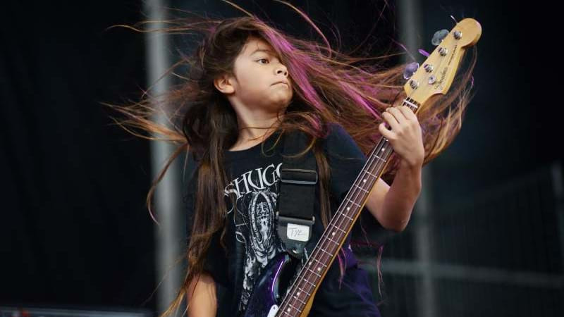 Metallica's Robert Trujillo 12 Year Old Son Joined Korn