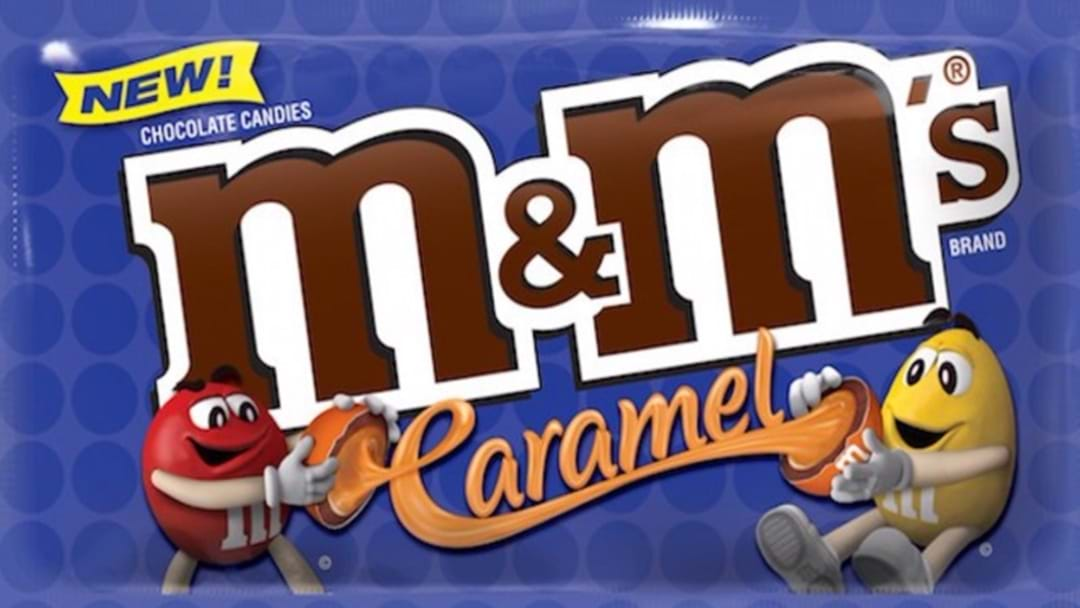 Shut The Front Door... Caramel M&M's Are Almost Here