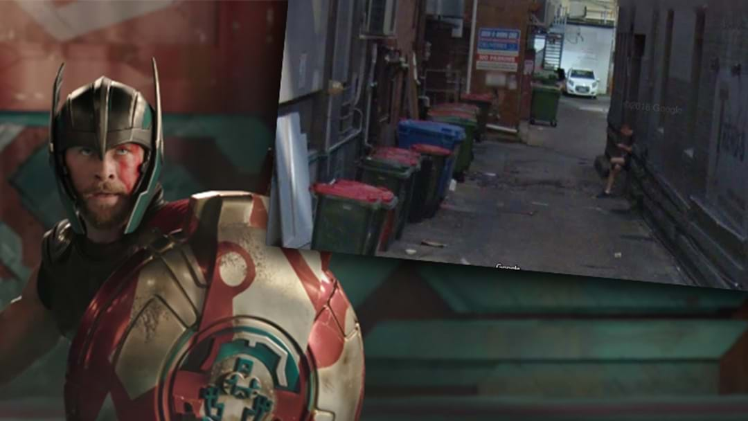 Check Out The Brisbane Street That Features In The New Thor Trailer