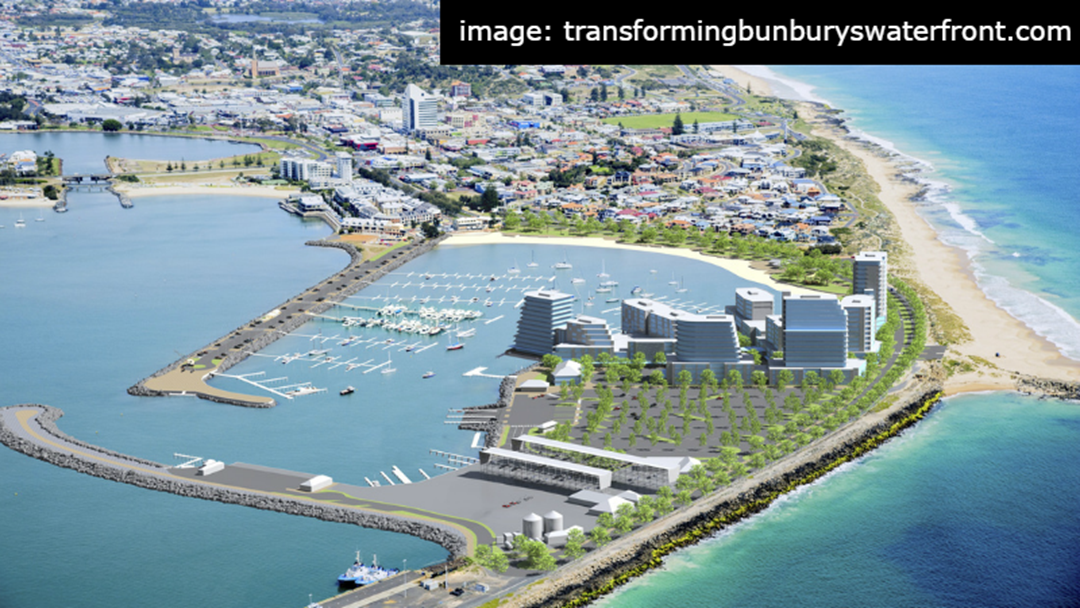 Fast Tracked Funds For Bunbury Waterfront
