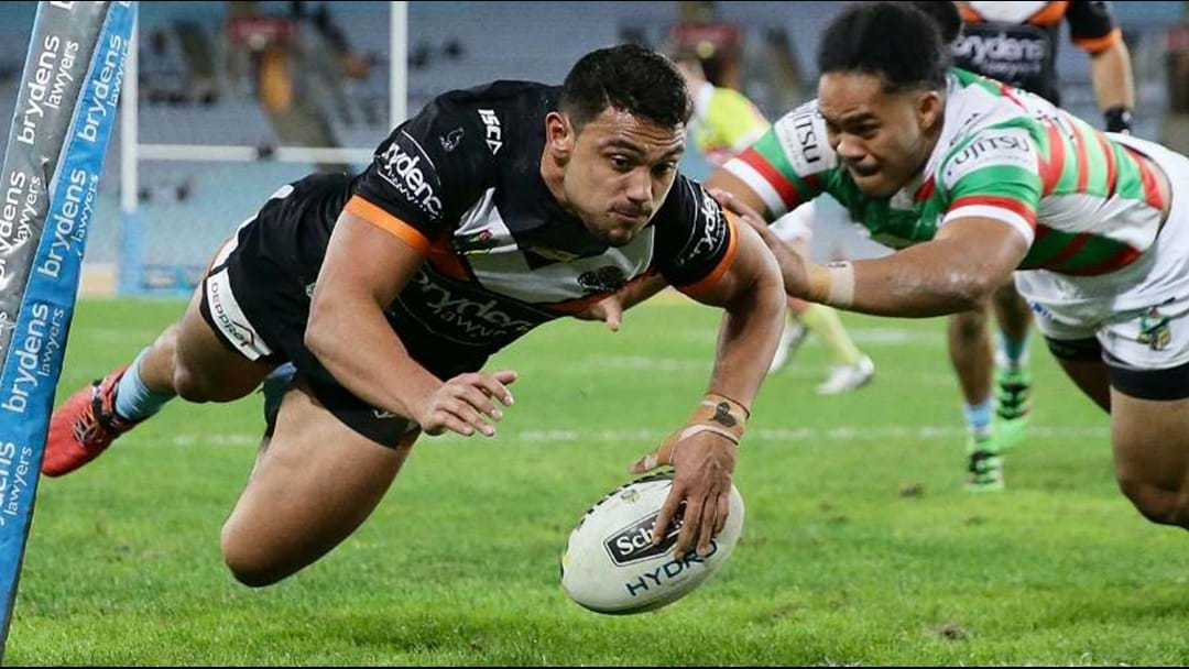 David Nofoaluma Re-Signs With Wests Tigers; Report