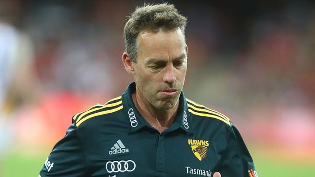 "Alastair Clarkson: ""It Was A Poor Choice Of Words"""