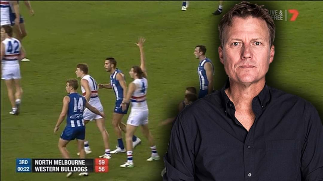 James Brayshaw's Solution To The Third Man Up Rule