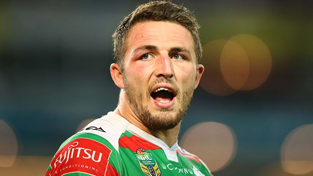 "Sam Burgess: ""He's trying to sell his book"""