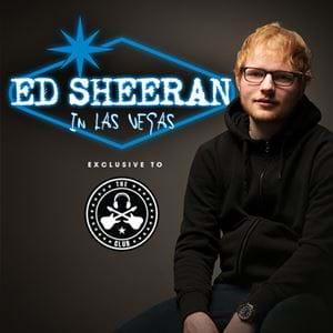 See Ed Sheeran in Las Vegas!