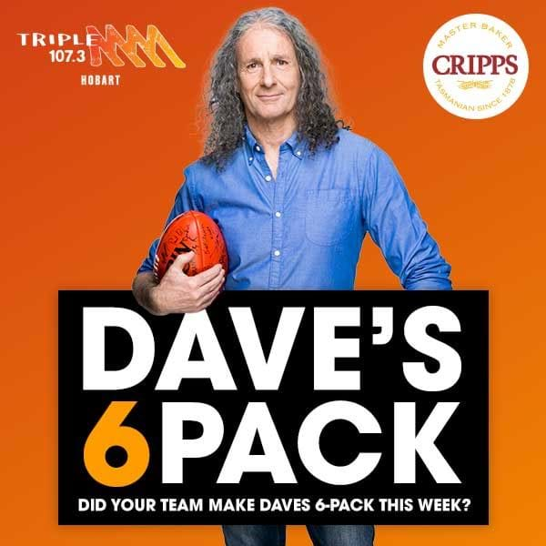 Dave's 6 Pack - Round 12