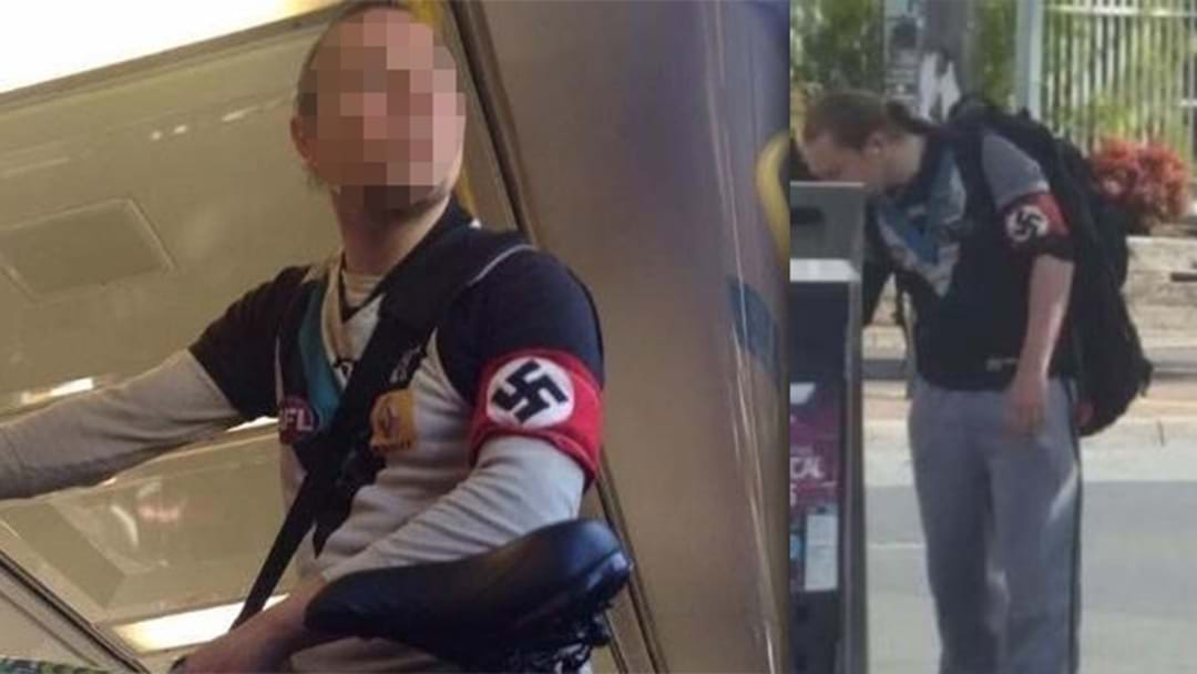 Port Adelaide Responds To Images Of 'Fan' Wearing A Swastika