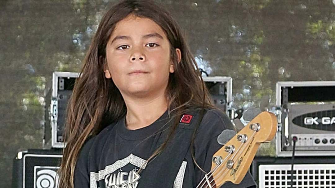 12-Year-Old Son Of Metallica Bassist Robert Trujillo Joins Korn Live On Stage.. And He Smashed It
