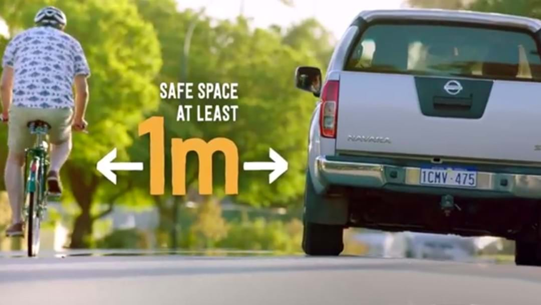 The One Metre Gap For WA Cyclists Is Likely To Become A Reality